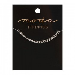 "Moda Jewellery - Chain 36"" - Plain - SILVER"