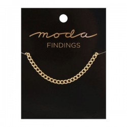 "Moda Jewellery - Chain 36"" - Plain - GOLD"
