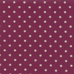 Linen Mochi Dot - BOYSENBERRY