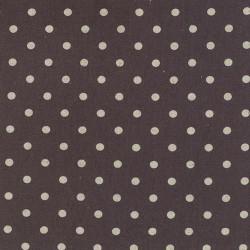 Linen Mochi Dot - CHARCOAL