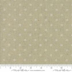 Linen Mochi Dot - NATURAL