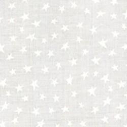 Muslin Mates Basics- STARS WHITE