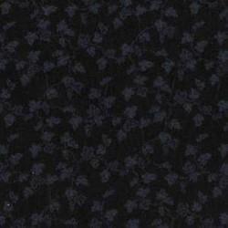 Muslin Mates Basics- LEAVES-BLACK ON BLACK