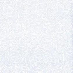 Muslin Mates Basics- BIRDS-WHITE ON WHITE