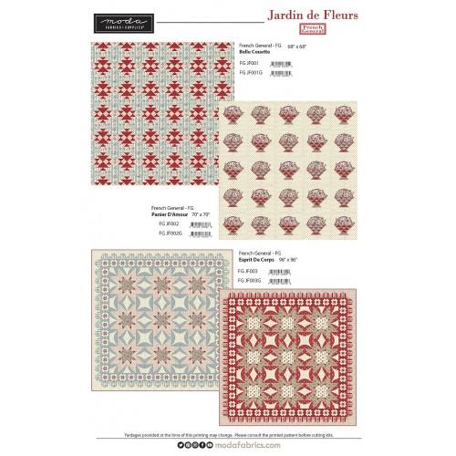 Collection Pack - FG - Jardin De Fleurs (20x5yd)