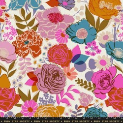 "108"" Wide Bloom Sateen - SHELL"