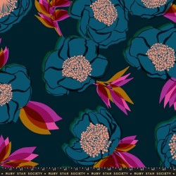 "108"" Wide Beam Sateen - DARK TEAL"