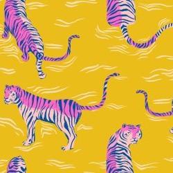 "Tiger Fly Rayon (45"") - YELLOW"