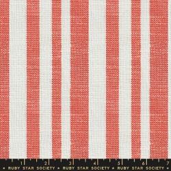 Woven Texture Stripe - PERSIMMON