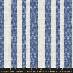 Woven Texture Stripe - BLUEBELL