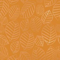 Leafy Metallic- CARAMEL
