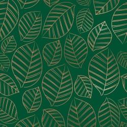 Leafy Metallic- JADE