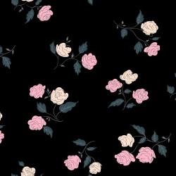 Steno Roses - BLACK