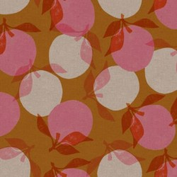 Peaches Cotton Linen(70/30) - CARAMEL