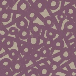 River Rocks Cotton Linen(70/30) - AMETHYST