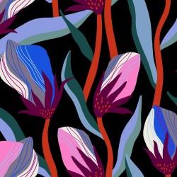 "Bloom Rayon (45"") - BLACK"