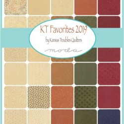 KT FAVORITES 2019 CHARM PACK