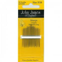 JJ Needles-Sharps(Multi Size) - GENERAL PURPOSE #5/10 (20x)