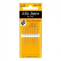 JJ Needles - EASY THREADING (Multi Size) #4/8 (6x)