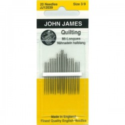 JJ Needles - QUILTING (Multi Size) #3/9 (6x)