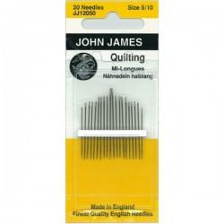 JJ Needles - QUILTING (Multi Size) #5/10 (6x)
