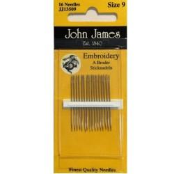 JJ Needles - EMBROIDERY #9 (16X)