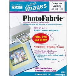 "Photo Fabric Paper - COTTON Poplin - 8.5""x11""(5x)"
