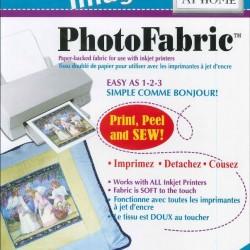 "Photo Fabric Paper - COTTON Poplin - 8.5""x11""(5x)"