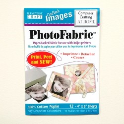 "Photo Fabric Paper - COTTON POPLIN-6"" x 4"" (12sheets)"