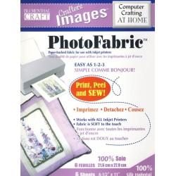 "Photo Fabric Paper - SILK - 8.5""x11""- (5x)"