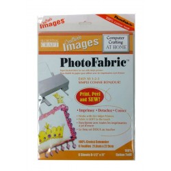 "Photo Fabric Paper - TWILL - 8.5""x11""(5 sheets)"