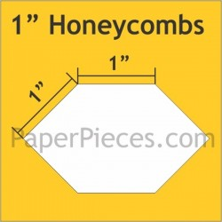 HEXAGON HONEYCOMB 1""