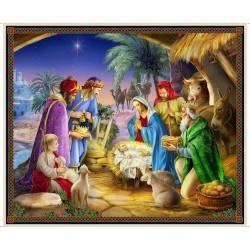 Panel - Nativity Panel 90cm - MULTI