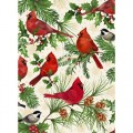 QUILTING TREASURES - CHRISTMAS CARDINALS