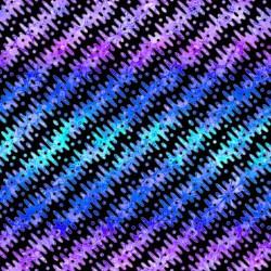 Gradient Diagonal Stripe - BLACK