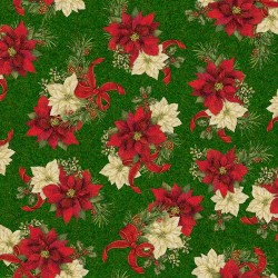 Spaced Poinsettia - FOREST