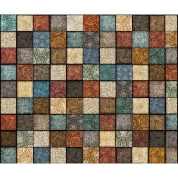 Decorative Square Patchwork - MULTI