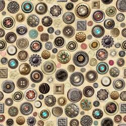 Buttons - CREAM