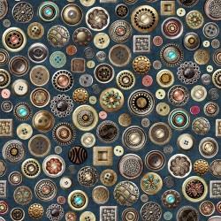 Buttons - DENIM