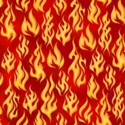 Flames - BURNT ORANGE