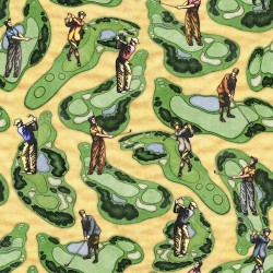 Golf Course Scenic - YELLOW