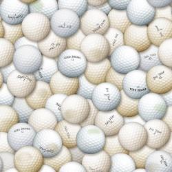Packed Golf Balls - WHITE