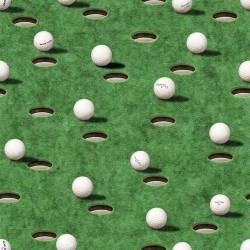 Golf Balls & Holes - LT GREEN