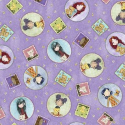 Tossed Girl Patches - LILAC