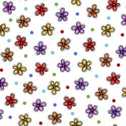 Flower Toss - WHITE