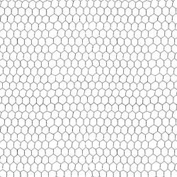 Chicken Wire - WHITE