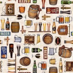 Beer Motifs - CREAM