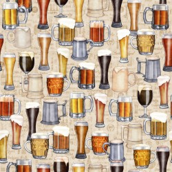 Beer Mugs & Glasses - CREAM