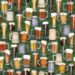 Beer Mugs & Glasses - GREEN