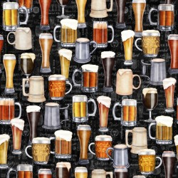 Beer Mugs & Glasses - BLACK